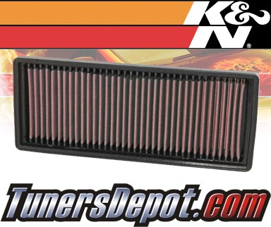 K&N® Drop in Air Filter Replacement - 07-12 Smart Fortwo 1.0L L3