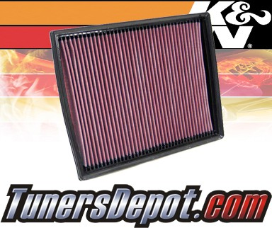 K&N® Drop in Air Filter Replacement - 08-08 Saturn Astra 1.8L 4cyl