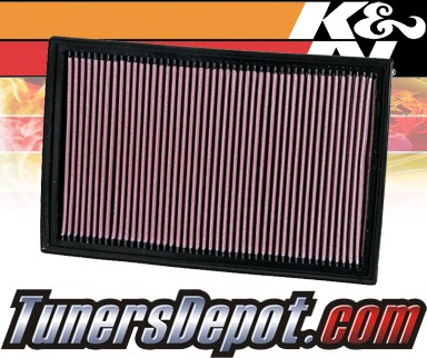 K&N® Drop in Air Filter Replacement - 08-08 Volkswagen VW Golf R32 3.2L V6