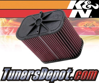 K&N® Drop in Air Filter Replacement - 08-09 BMW M3 E90/E92/E93 4.0L V8