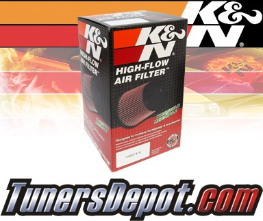 K&N® Drop in Air Filter Replacement - 08-09 Dodge Caliber SRT-4 2.4L 4cyl