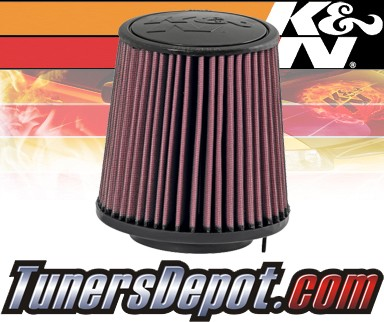 K&N® Drop in Air Filter Replacement - 08-10 Audi A5 3.2L V6