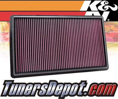 K&N® Drop in Air Filter Replacement - 08-10 Dodge Viper 8.4L V10
