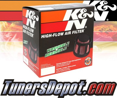 K&N® Drop in Air Filter Replacement - 08-10 Ford F550 F-550 6.4L V8 Diesel