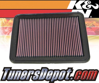 K&N® Drop in Air Filter Replacement - 08-10 Pontiac G6 2.4L 4cyl - OEM 22676970