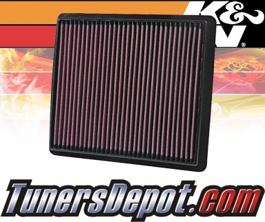 K&N® Drop in Air Filter Replacement - 08-11 Dodge Journey 2.0L 4cyl Diesel