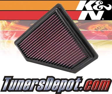 K&N® Drop in Air Filter Replacement - 08-11 Ford Focus 2.0L 4cyl