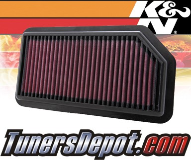 K&N® Drop in Air Filter Replacement - 08-11 Kia Soul 1.6L 4cyl