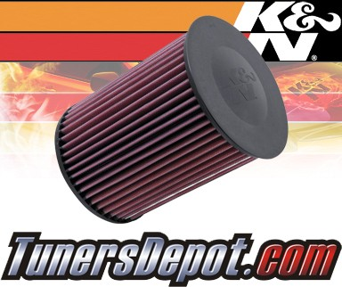 K&N® Drop in Air Filter Replacement - 08-11 Volvo V50 1.6L 4cyl