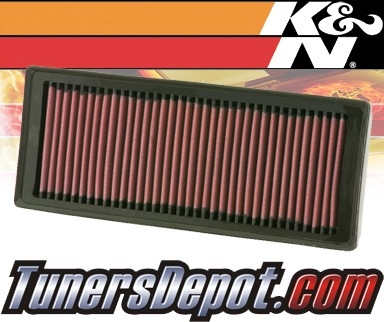 K&N® Drop in Air Filter Replacement - 08-12 Audi Q5 Turbo 2.0L 4cyl