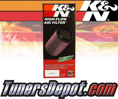 K&N® Drop in Air Filter Replacement - 08-12 GMC Savana 3500 6.0L V8