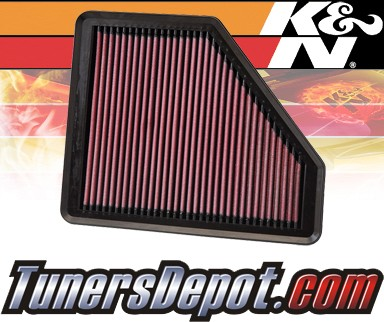 K&N® Drop in Air Filter Replacement - 08-12 Hyundai Genesis 2dr 2.0L 4cyl