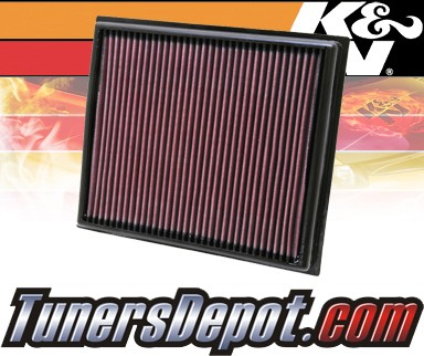 K&N® Drop in Air Filter Replacement - 08-12 Lexus ISF IS-F 5.0L V8