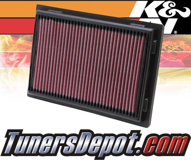 K&N® Drop in Air Filter Replacement - 08-12 Lexus LS600h 5.0L V8