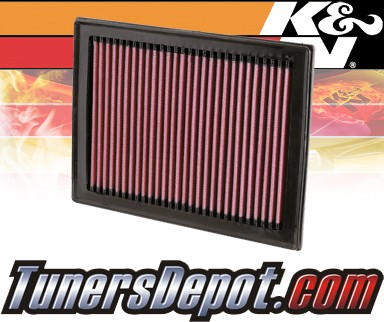K&N® Drop in Air Filter Replacement - 08-12 Nissan Rogue 2.5L 4cyl