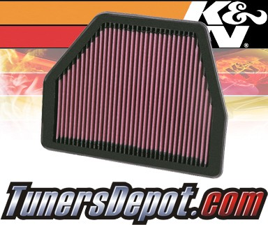 K&N® Drop in Air Filter Replacement - 09-09 Saturn Vue Hybrid 2.4L 4cyl