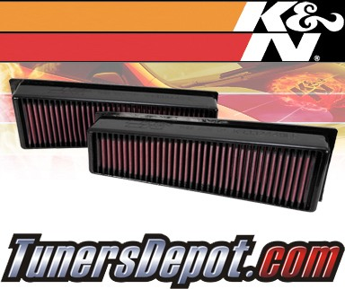 K&N® Drop in Air Filter Replacement - 09-10 BMW X5 M-Sport E70 4.4L V8