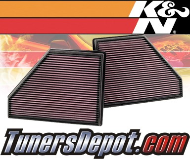 K&N® Drop in Air Filter Replacement - 09-10 BMW X5 xDrive48i E70 4.8L V8