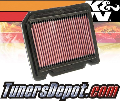 K&N® Drop in Air Filter Replacement - 09-10 Pontiac G3 1.6L 4cyl