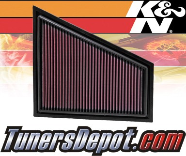 K&N® Drop in Air Filter Replacement - 09-11 BMW Z4 Non-Turbo E89 3.0L L6