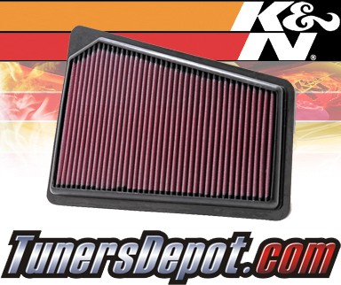 K&N® Drop in Air Filter Replacement - 09-11 Hyundai Genesis 4dr 3.8L V6