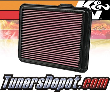 K&N® Drop in Air Filter Replacement - 09-12 GMC Canyon 5.3L V8