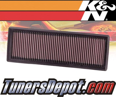 K&N® Drop in Air Filter Replacement - 09-12 Mini Cooper 1.6L 4cyl