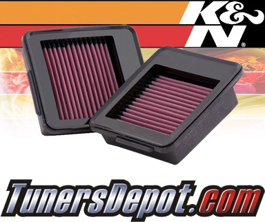 K&N® Drop in Air Filter Replacement - 09-12 Nissan GT-R GTR 3.8L V6
