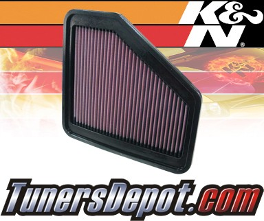 K&N® Drop in Air Filter Replacement - 09-12 Toyota RAV4 RAV-4 2.5L 4cyl