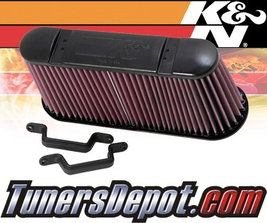 K&N® Drop in Air Filter Replacement - 09-13 Chevy Corvette ZR-1 6.2L V8