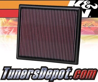 K&N® Drop in Air Filter Replacement - 10-12 Buick LaCrosse 2.4L 4cyl