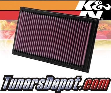 K&N® Drop in Air Filter Replacement - 10-12 Ford Fusion 2.5L 4cyl