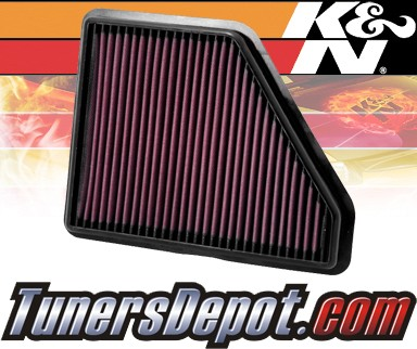 K&N® Drop in Air Filter Replacement - 10-12 GMC Terrain 2.4L 4cyl