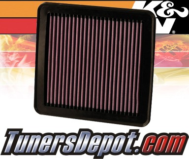K&N® Drop in Air Filter Replacement - 10-12 Kia Forte 2.0L 4cyl