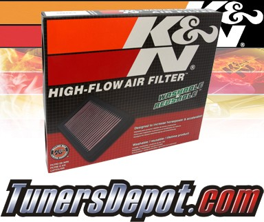 K&N® Drop in Air Filter Replacement - 10-13 Chevy Camaro 3.6L V6