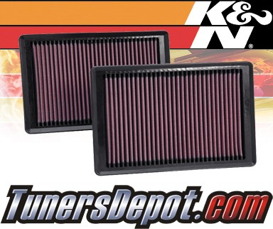 K&N® Drop in Air Filter Replacement - 10-13 Jaguar XKR 5.0L V8