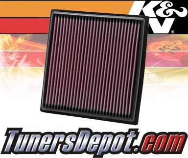 K&N® Drop in Air Filter Replacement - 10-13 Lexus RX450h 3.5L V6