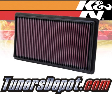 K&N® Drop in Air Filter Replacement - 10-13 Lincoln MKT 3.7L V6