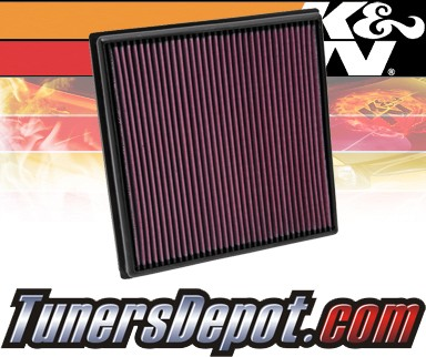 K&N® Drop in Air Filter Replacement - 11-12 Chevy Cruze Turbo 1.4L 4cyl
