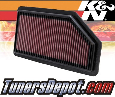 K&N® Drop in Air Filter Replacement - 11-12 Honda Odyssey 3.5L V6