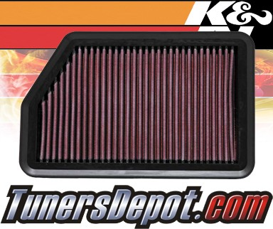 K&N® Drop in Air Filter Replacement - 11-12 Kia Sportage 2.4L 4cyl