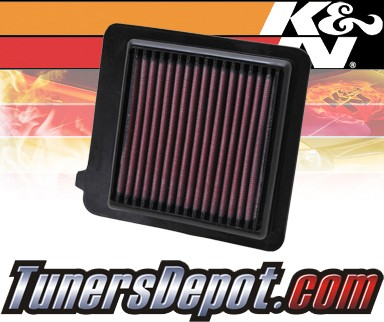 K&N® Drop in Air Filter Replacement - 11-13 Honda CR-Z CRZ 1.5L 4cyl