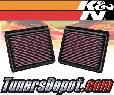 K&N® Drop in Air Filter Replacement - 11-13 Infiniti M37 3.7L V6