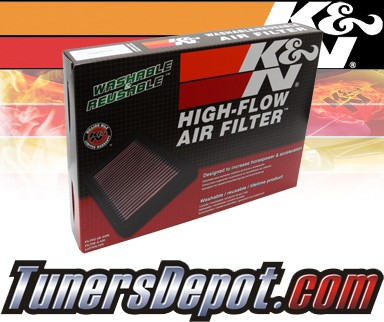 K&N® Drop in Air Filter Replacement - 11-13 Lexus Ct200h 1.8L