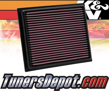 K&N® Drop in Air Filter Replacement - 11-13 Lexus Ct200h 1.8L 4cyl