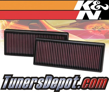 K&N® Drop in Air Filter Replacement - 12-12 Mercedes CLS550 W218 4.6L V8