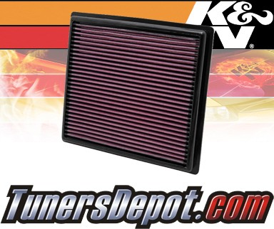 K&N® Drop in Air Filter Replacement - 12-12 Toyota Camry 3.5L V6