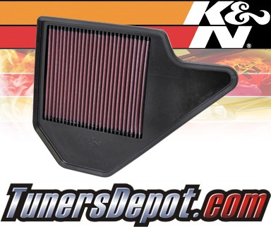 K&N® Drop in Air Filter Replacement - 12-12 Volkswagen VW Routan 3.6L V6