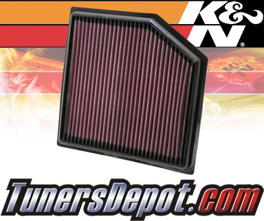 K&N® Drop in Air Filter Replacement - 13-13 Lexus GS350 3.5L V6