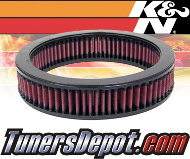K&N® Drop in Air Filter Replacement - 83-88 Nissan Pulsar 1.6L 4cyl